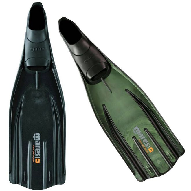 Mares - Avanti Quattro Shoe Fins for Scuba, Spearfishing and Snorkelling